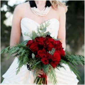 See How Wonderful This Red Bouquet Using Only Peonies Looks Try The Same With Other Flowers To Which Type Of Bloom Suits Your Wedding Theme Best